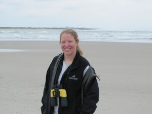 Theresa Laverty, Field Technician, Beach Nesting Bird Project