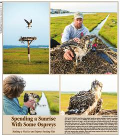 Image of Photo essay in the The Sandpaper, Sept. 2014 covering Project RedBand.