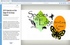 Image of Species on the Edge Story Map