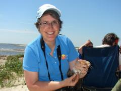 Image of Jane received the Inspriation award in 2009 for her work to protect NJ's wildlife.