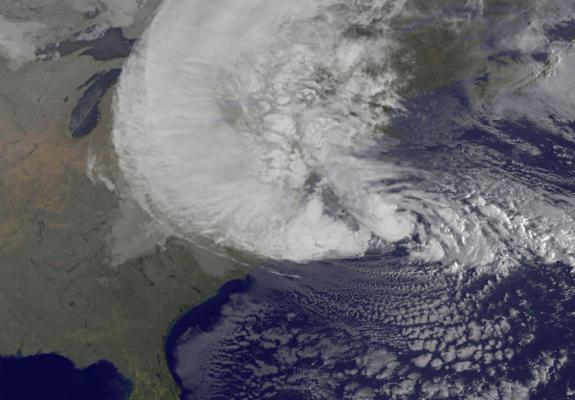 Image of sandy satellite