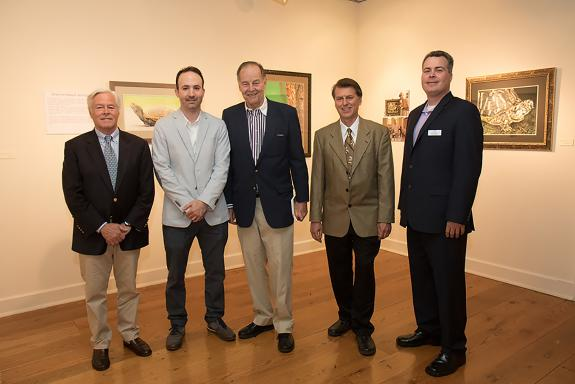 Image of Thank you to Hiram Blauvelt Museum for hosting a beautiful evening, which celebrated wildlife conservation and one-of-a-kind artwork. All photos courtesy of Bryan Duggan Photography.