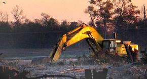 Image of Habitat Loss Bulldozer